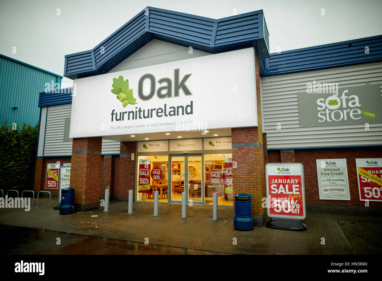 The Exterior Of Macclesfield Oak Furniture Land A Privately Owned British  Designer, Manufacturer And