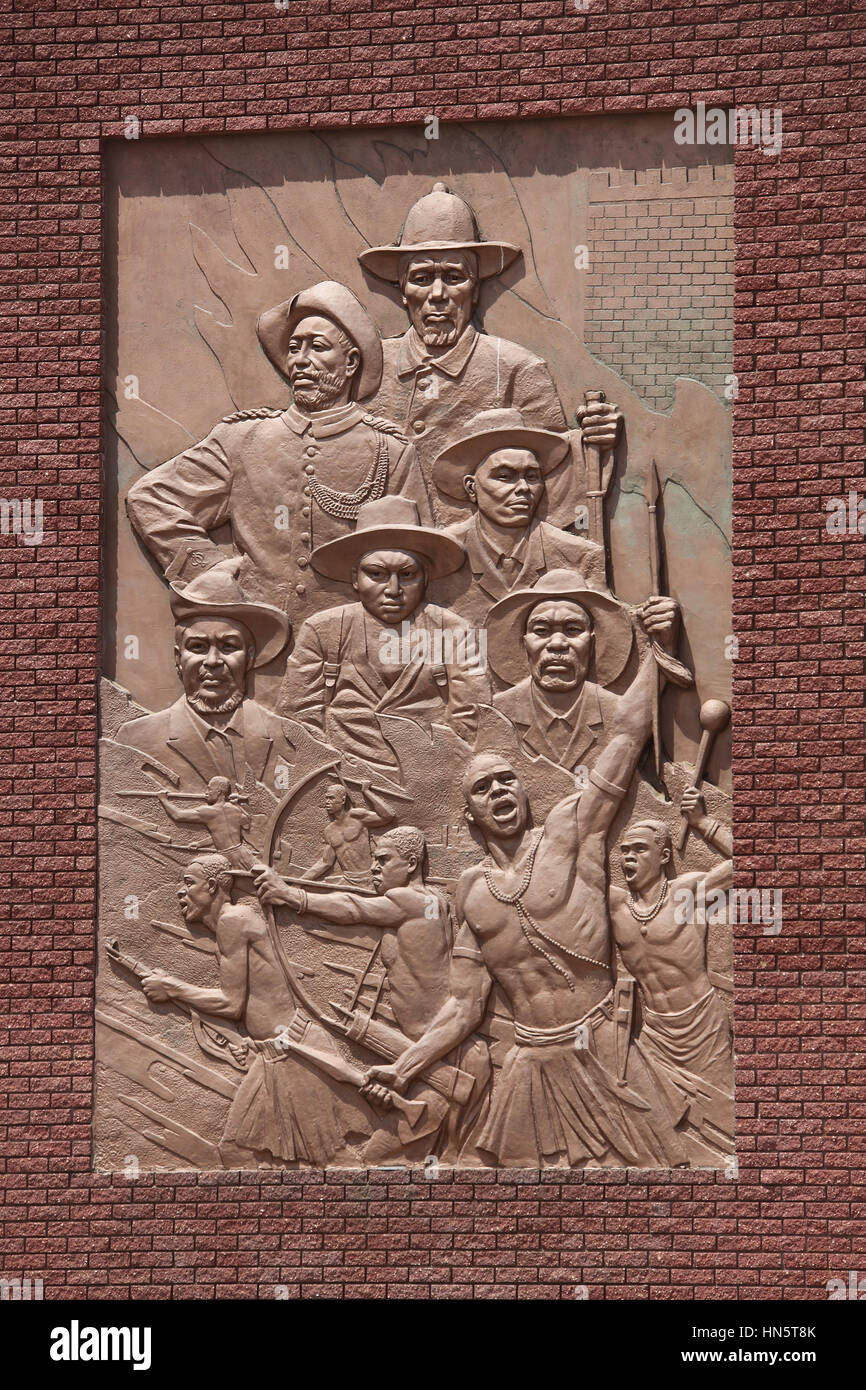 Namibian Military Museum at Okahandja - Stock Image