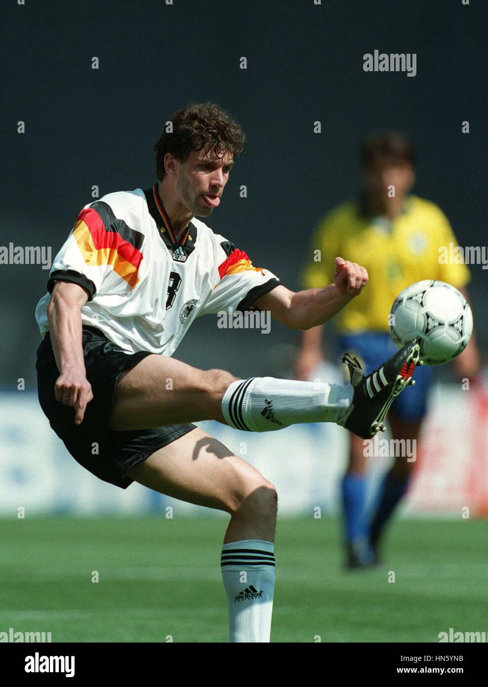MICHAEL ZORO GERMANY & BORUSSIA DORTMUND FC 29 June 1993 - Stock Image