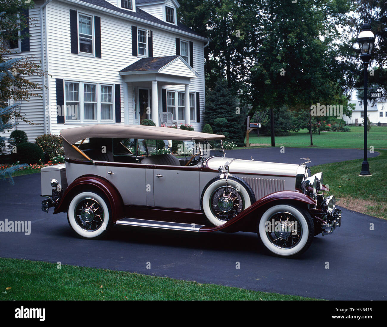 1930 Buick series 40 - Stock Image