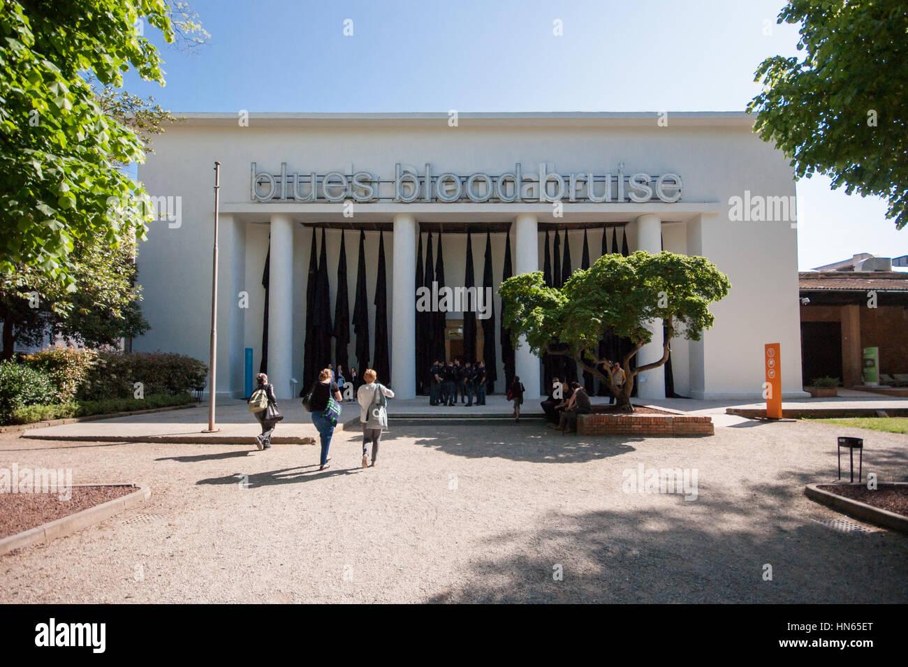 Venice Art Biennale 2015, central pavilion Giardini, curator: Okwui Enwezor - Stock Image