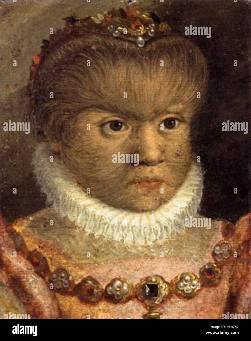 16th-century unknown painters - The Daughter of the