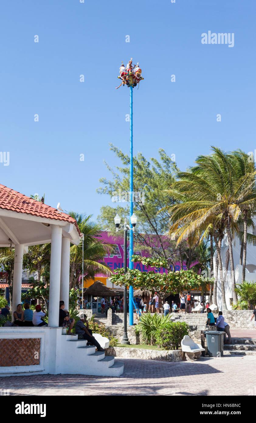Playa del Carmen, Riviera Maya, Mexico - Stock Image