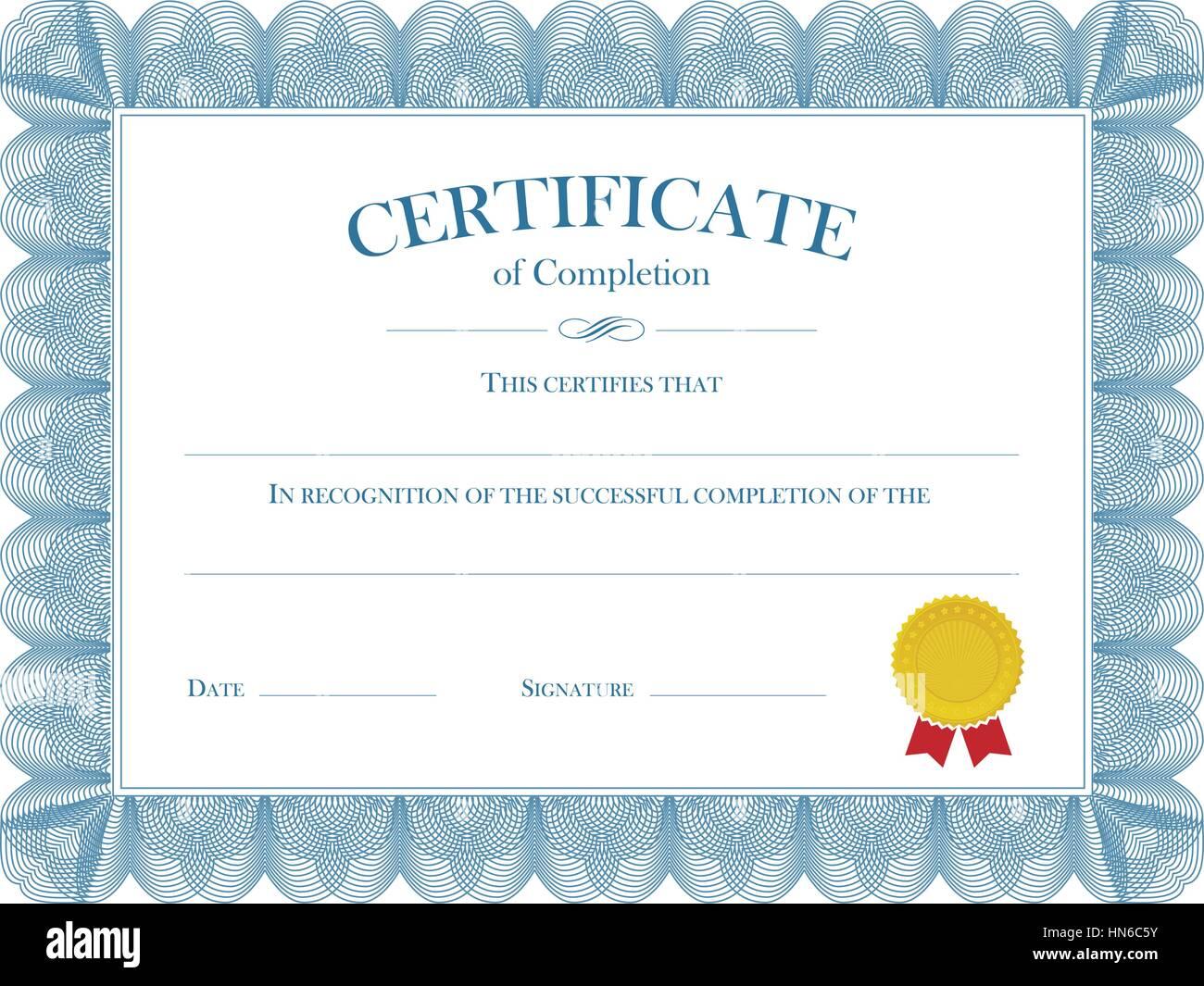 Award Certificate Completion Stock Photos & Award Certificate ...