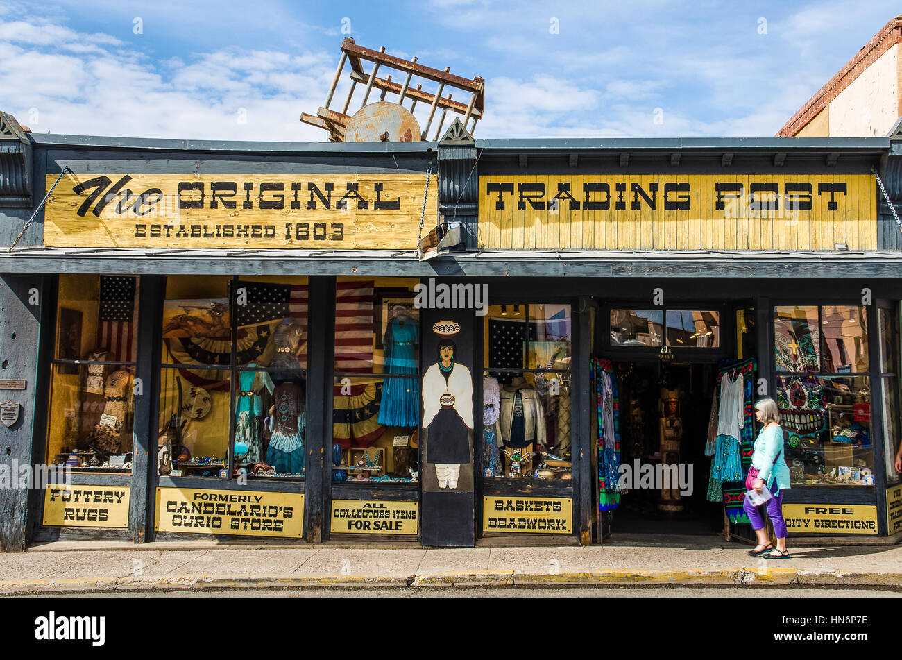 Native American Trading Store High Resolution Stock Photography And Images Alamy