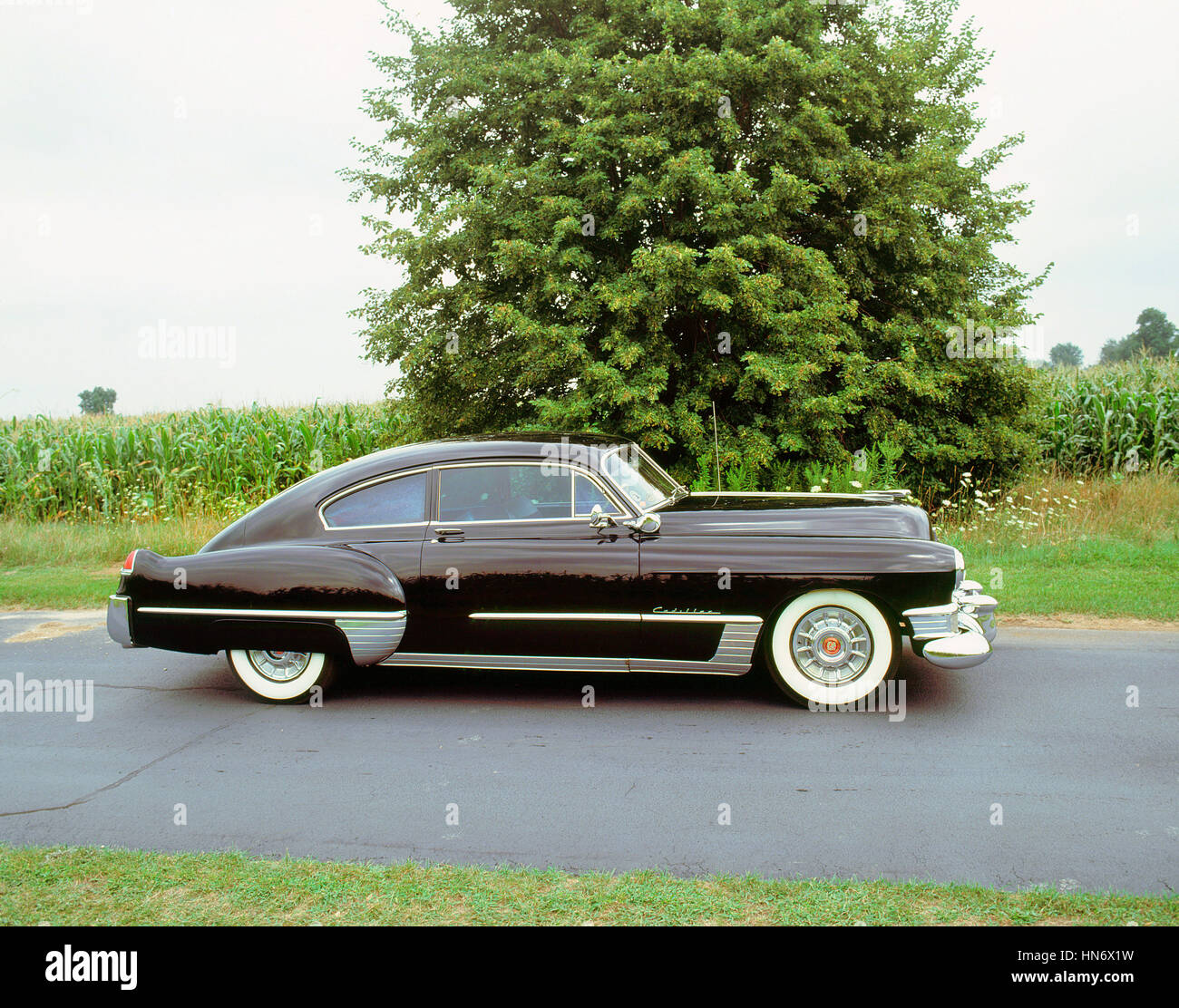 1949 Cadillac series 61 Fastback - Stock Image