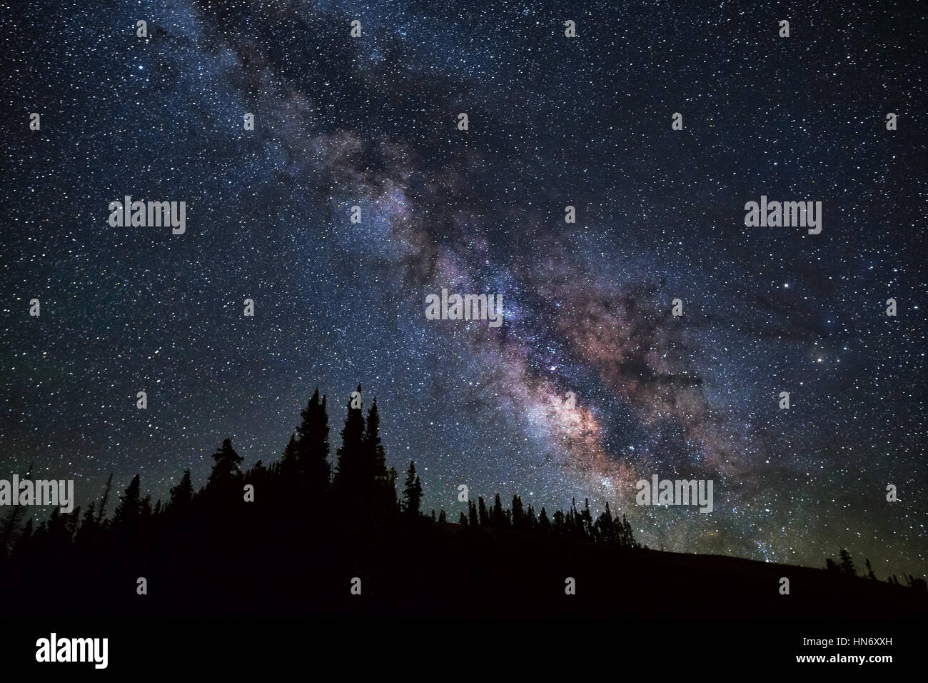 Milky Way Galaxy - Stock Image