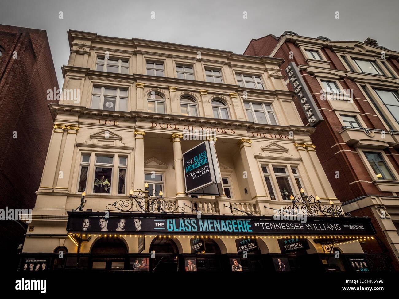 The Duke of York Theatre, St Martin's Lane, London WC2N 4BG, UK. - Stock Image