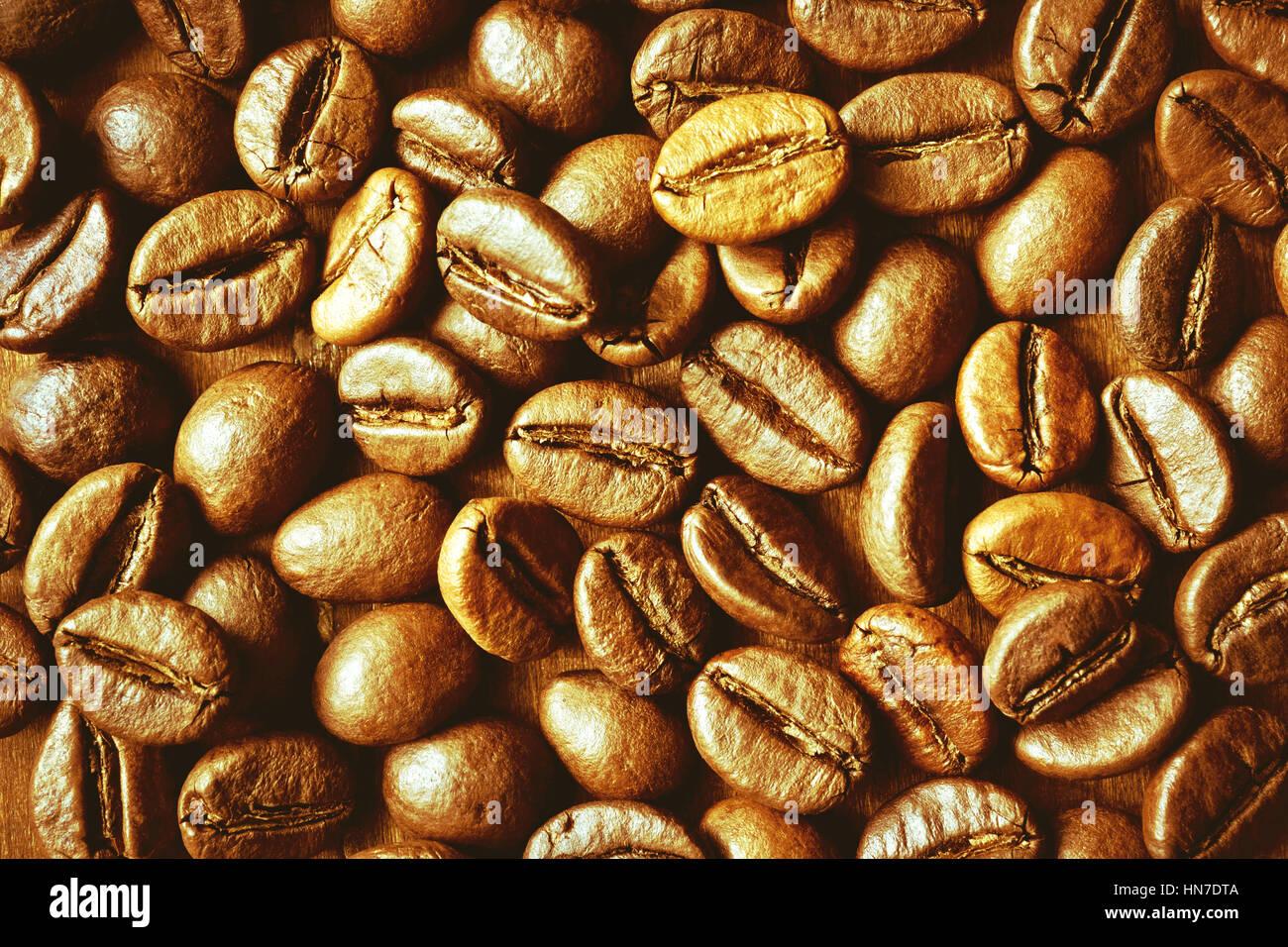 Coffee bean background - Stock Image