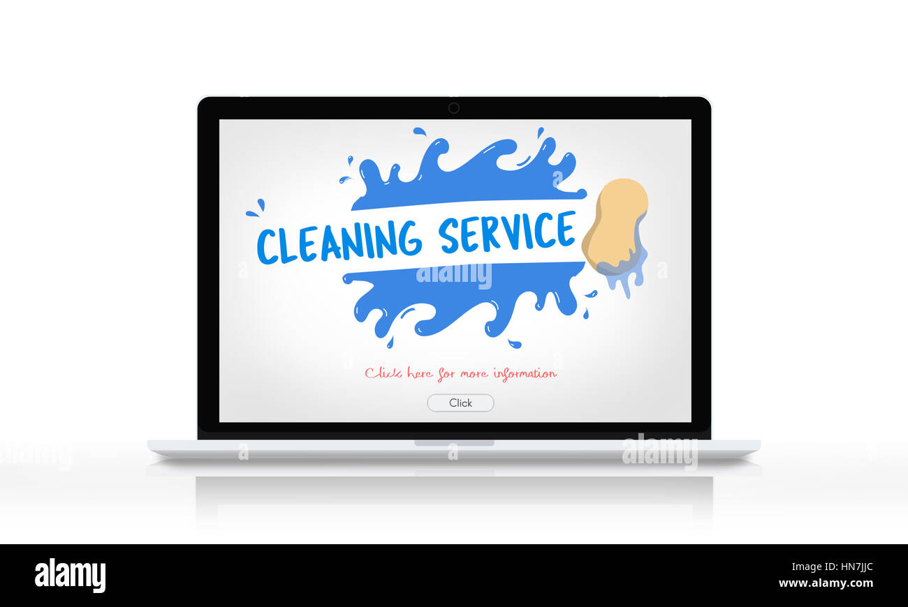 Cleaning Service Professional Cleaner Hygiene Housekeeper Concept Stock Photo