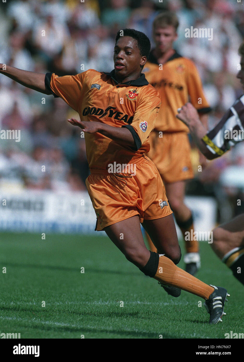 MARK RANKIN WOLVERHAMPTON WANDERERS FC 24 August 1994 - Stock Image