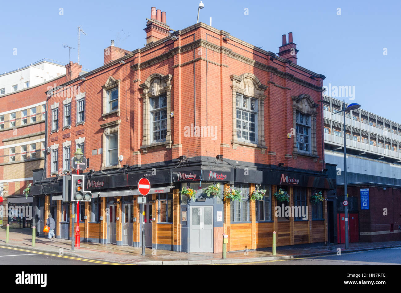 'Missing' bar and club in Birmingham's gay village - Stock Image