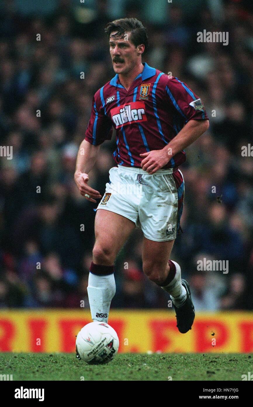 SHAUN TEALE ASTON VILLA FC 01 March 1994 - Stock Image