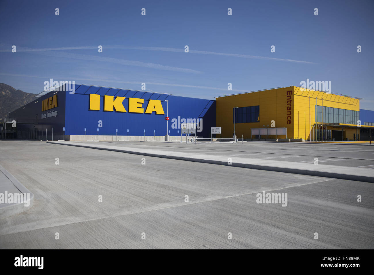 The Parking Lot Of The New IKEA Burbank Home Furnishings Store On  Wednesday, February 1, 2017 In Burbank, Calif. The 456,000 Square Foot Furniture  Store On ...