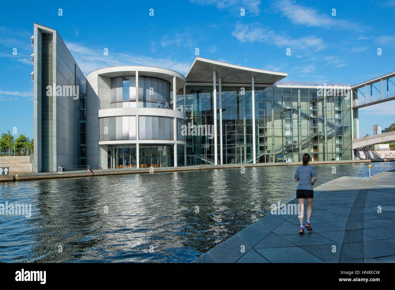 Paul Lobe Haus  building - Stock Image