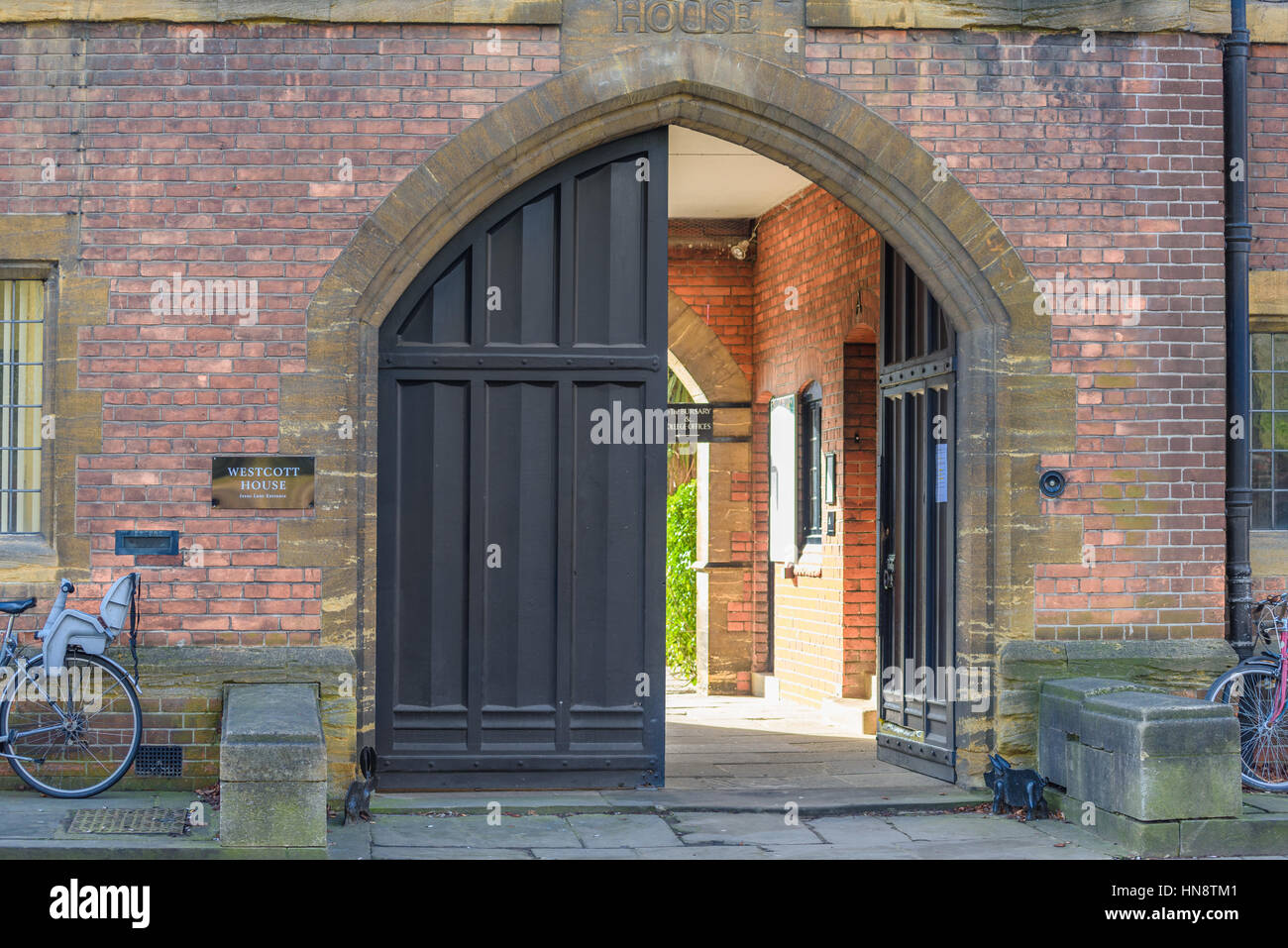 Westcott House, Cambridge, England. - Stock Image
