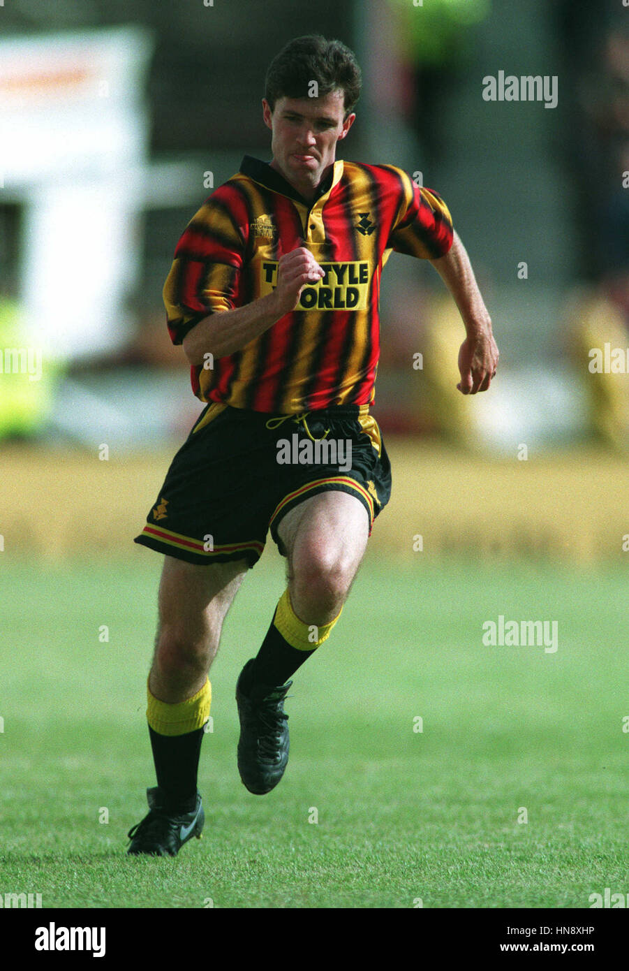 IAN CAMERON PARTICK THISTLE FC 27 September 1994 - Stock Image