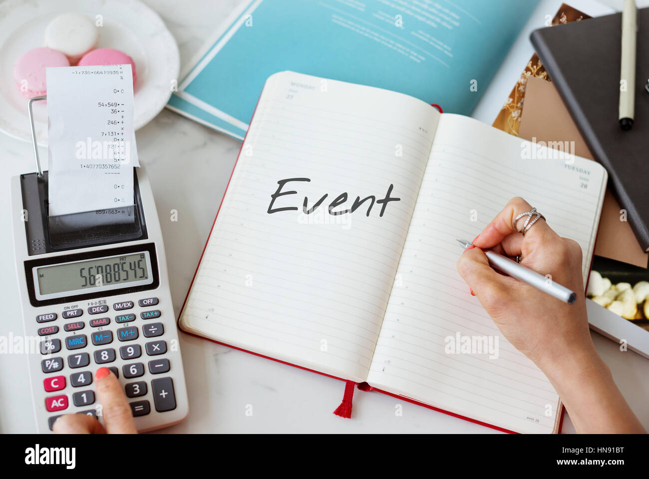 Timeline Event Period Duration Memories Concept - Stock Image