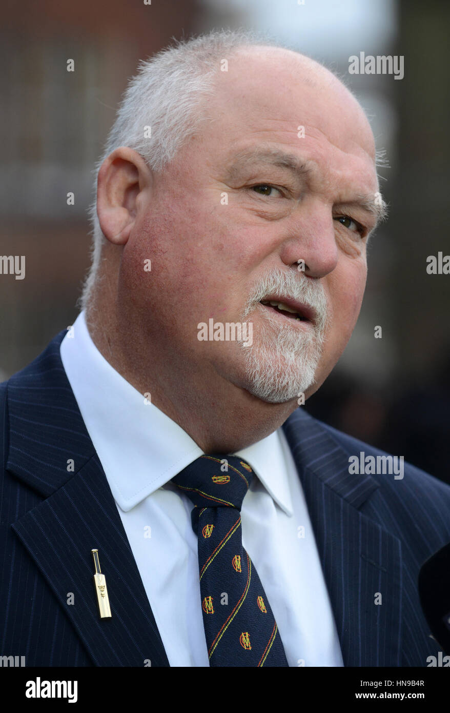 Former England Cricket Captain Mike Gatting Arriving At St