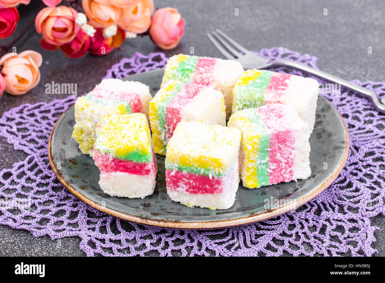 What make Turkish delight East sweets 47
