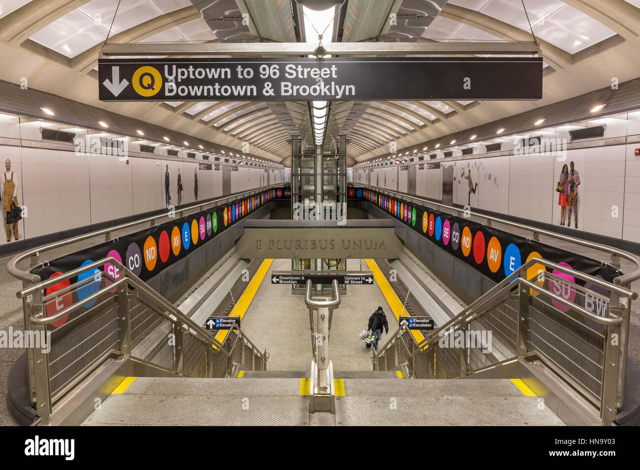 72nd Street Subway Map.Second Avenue Subway Stock Photos Second Avenue Subway Stock
