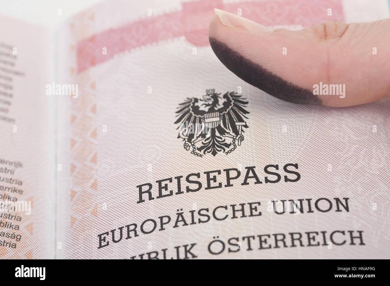 Fingerabdruck Im Reisepass