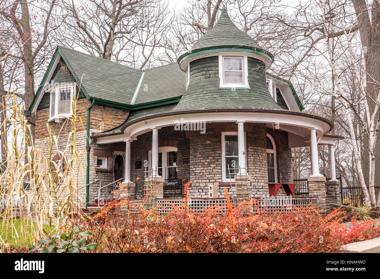 Kew Williams House Is A Two Storey Stone Structure Built In The Queen Anne Revival Style Located Beaches Neighbourhood Of Toronto Canada
