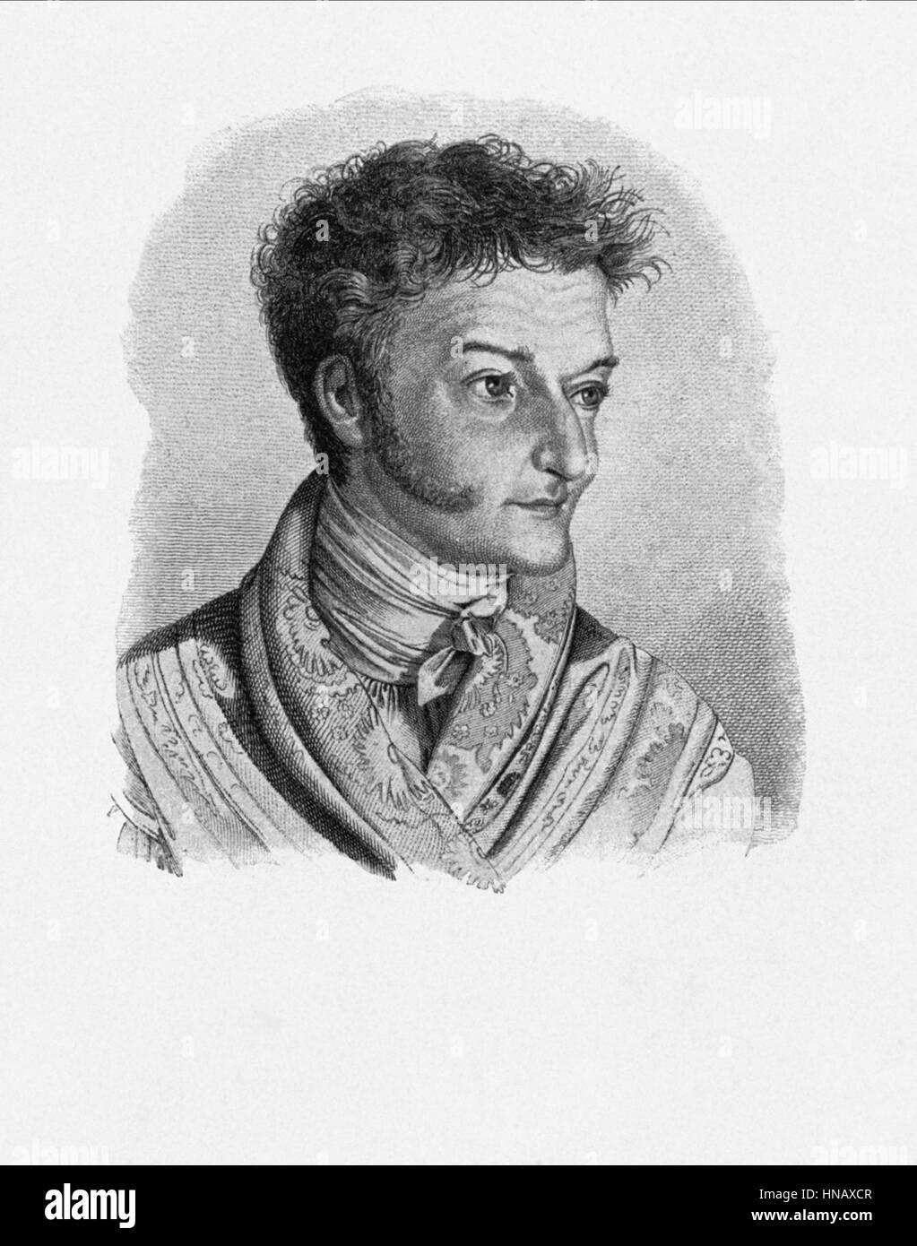 E.T.A. HOFFMANN WRITER (1800) - Stock Image