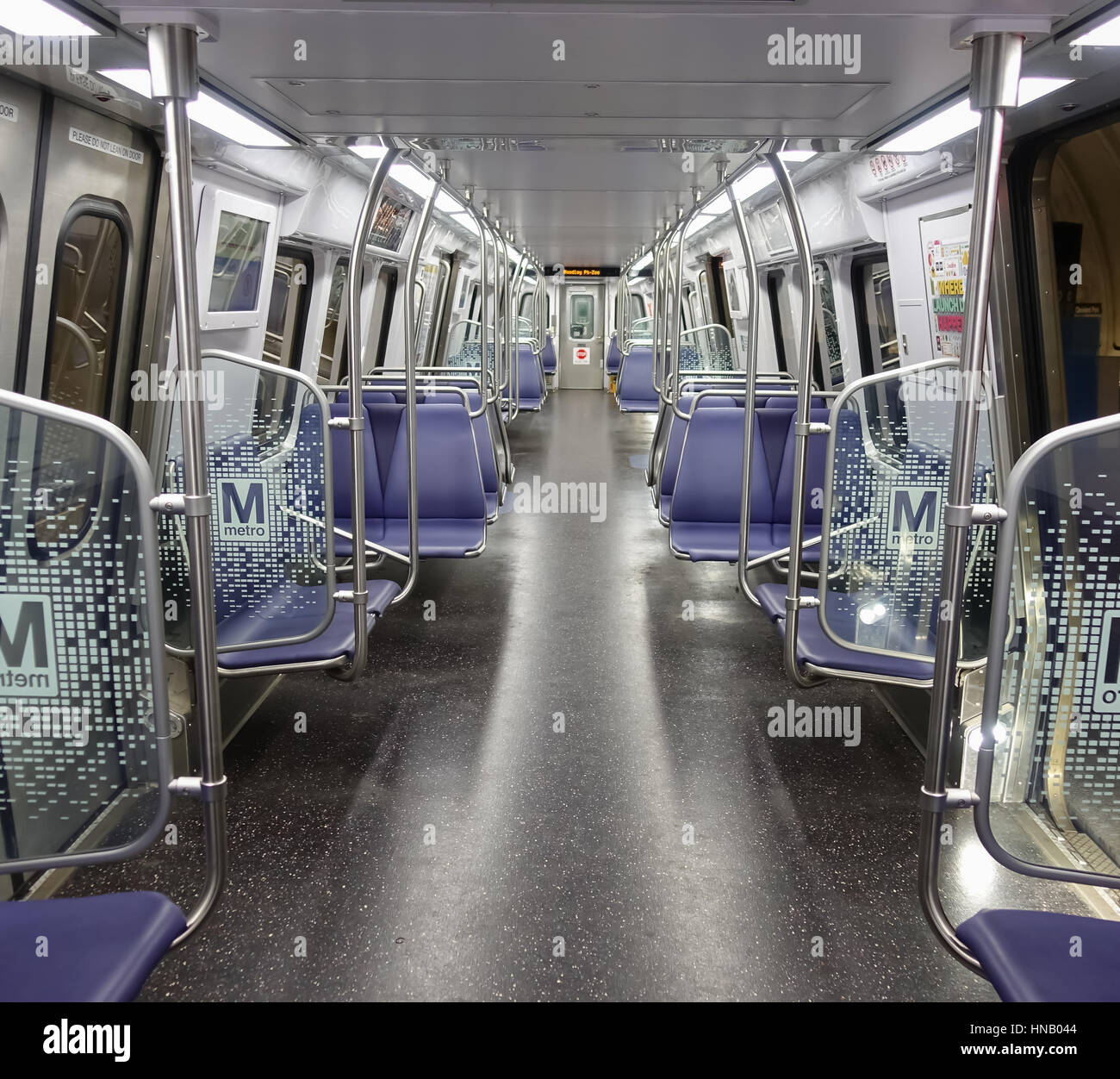 Inside New DC Metro Car 7000 Series, Manufactured By