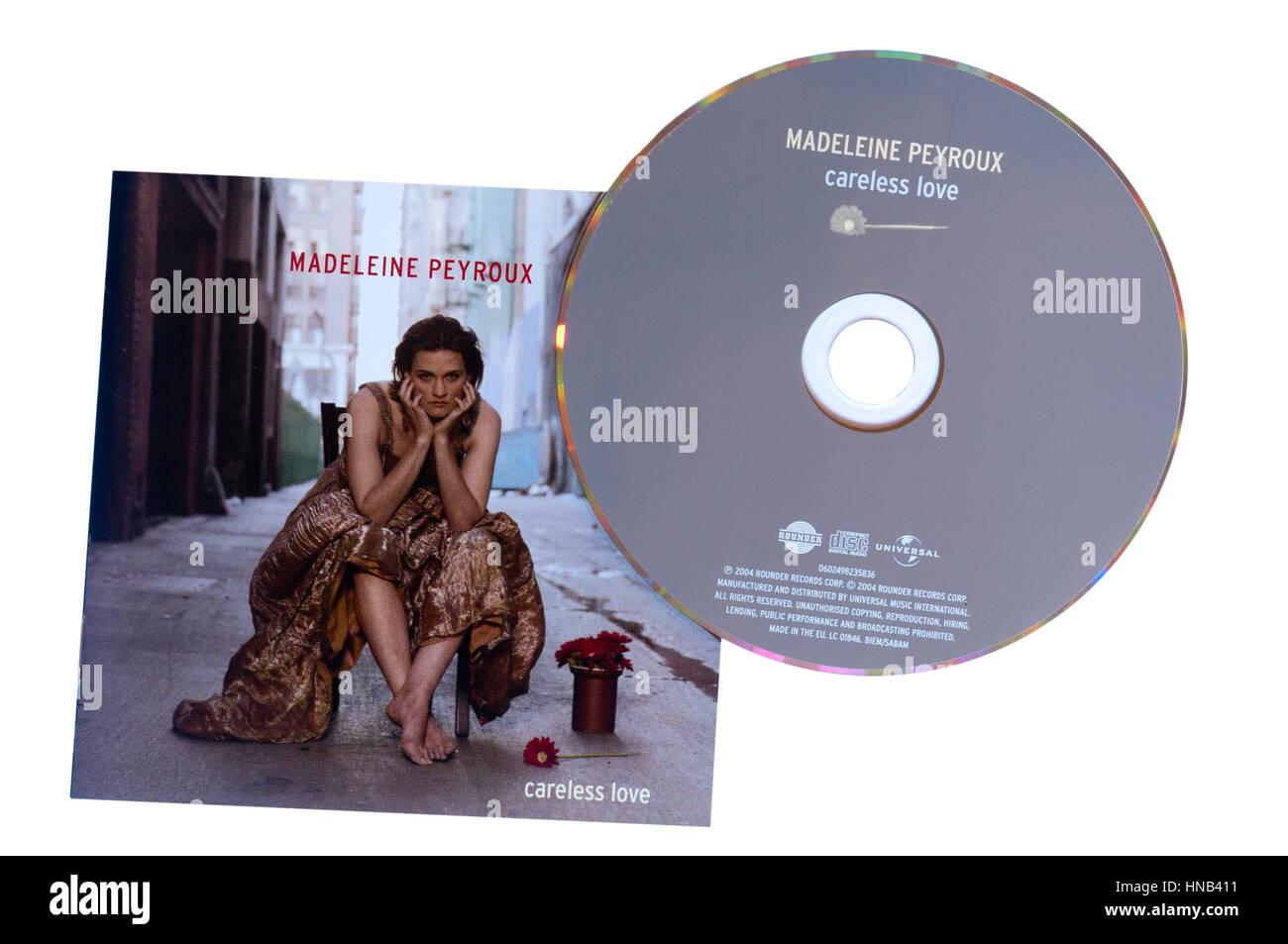 Madeleine Peyroux Careless Love Music CD - Stock Image