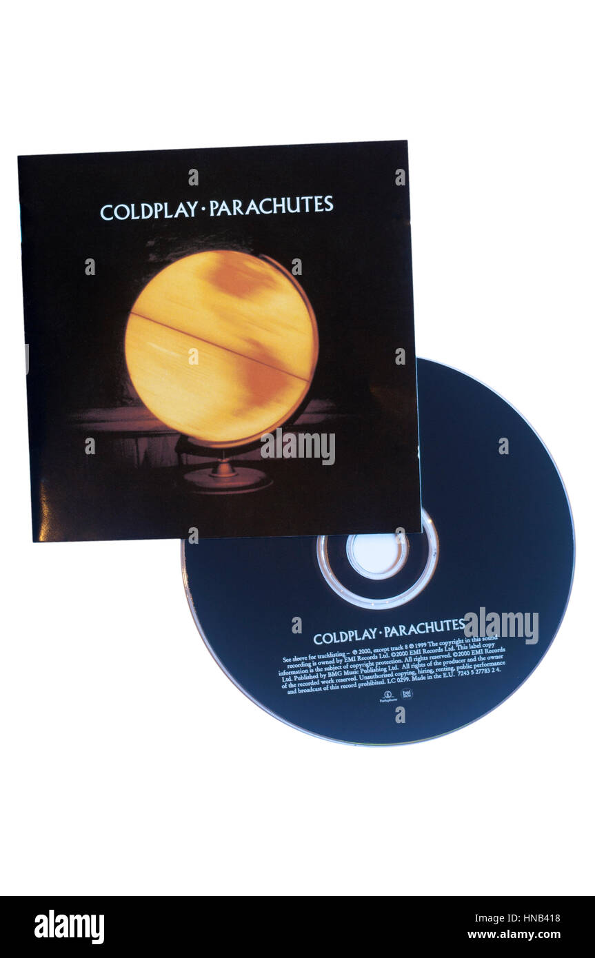 Coldplay Parachutes Music CD Stock Photo: 133624996 - Alamy
