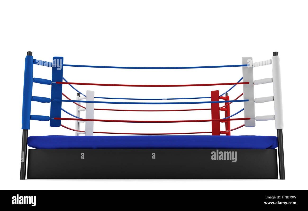 Boxing ring cut out stock images pictures alamy boxing ring isolated on white background stock image ccuart Images
