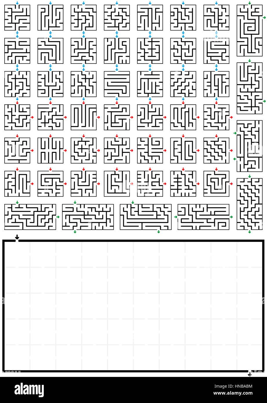 Net Maze Stock Photos & Net Maze Stock Images - Alamy