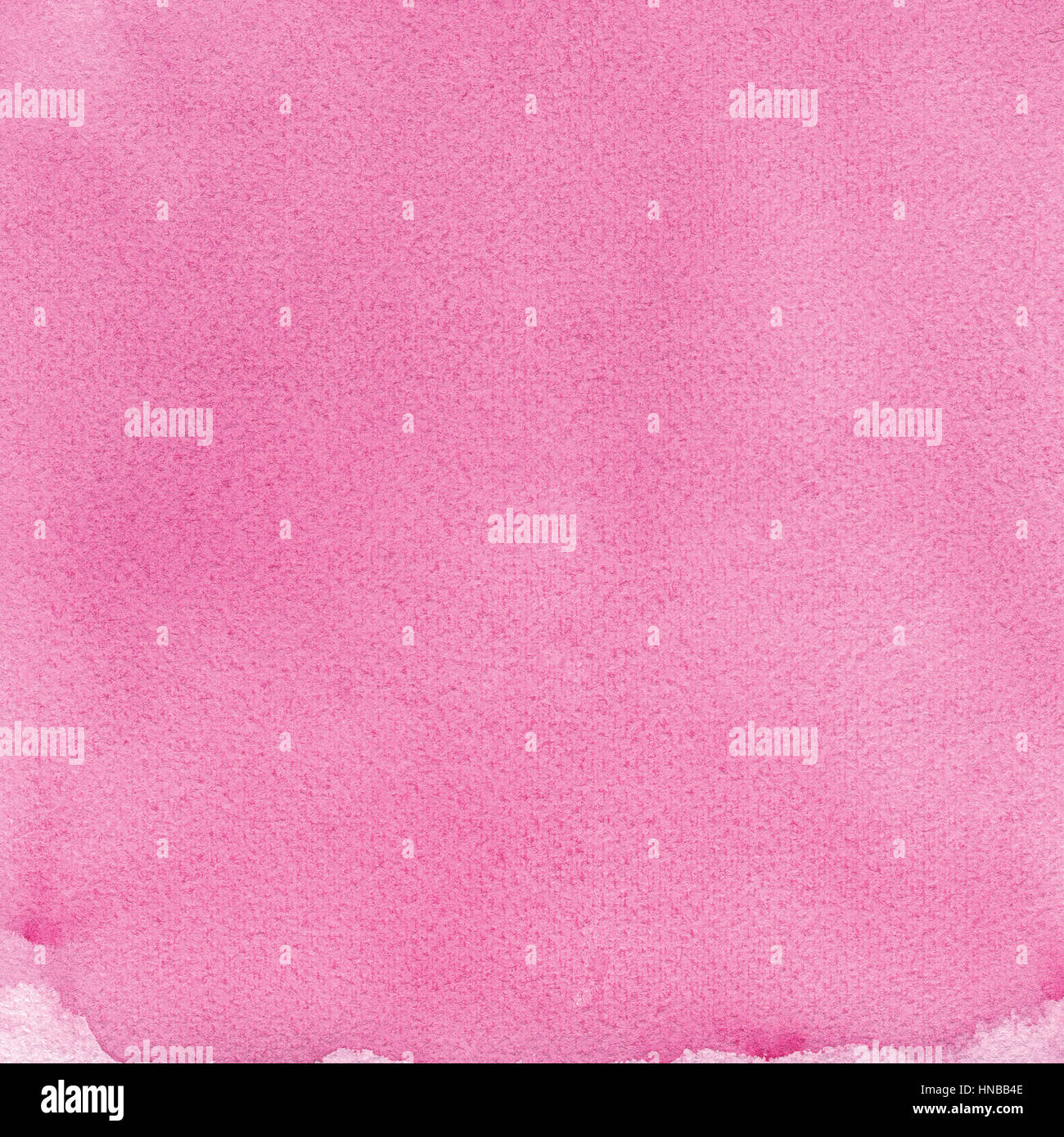 Pink natural handmade aquarelle painting texture, vertical textured watercolor paper macro close up copy space background - Stock Image