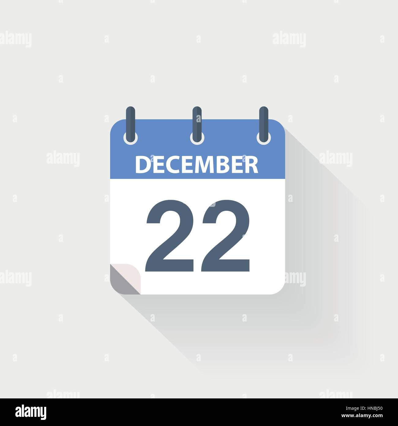 December Calendar Art : December calendar icon on grey background stock vector art