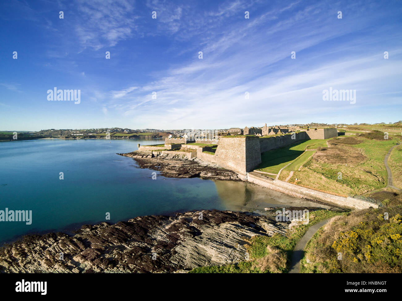 Charles Fort, Kinsale, County Cork, Ireland Stock Photo