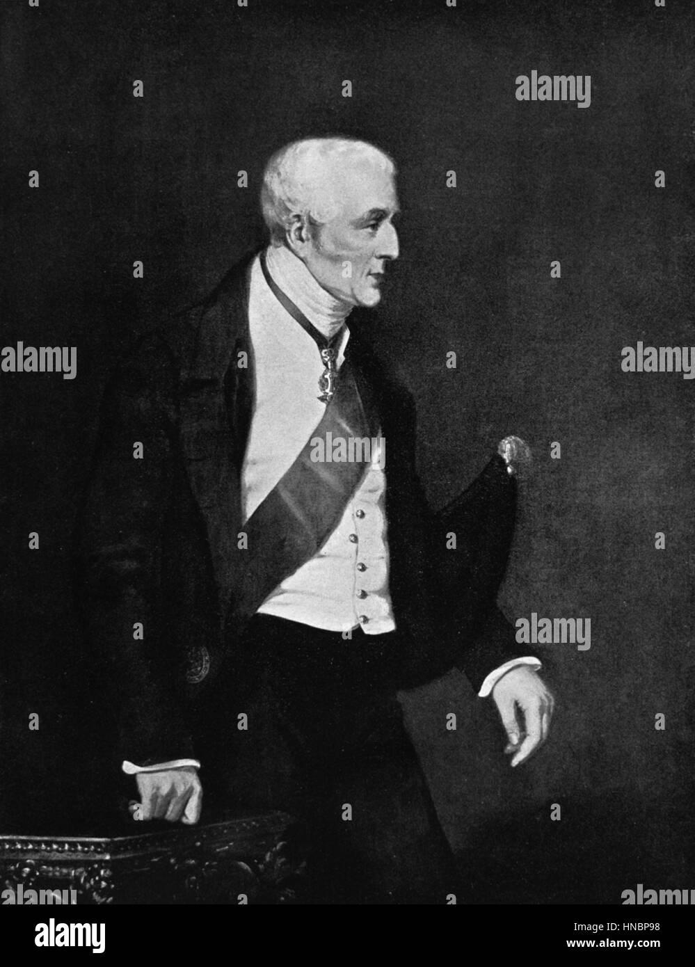 ARTHUR WELLESLEY  01 January 1830 - Stock Image