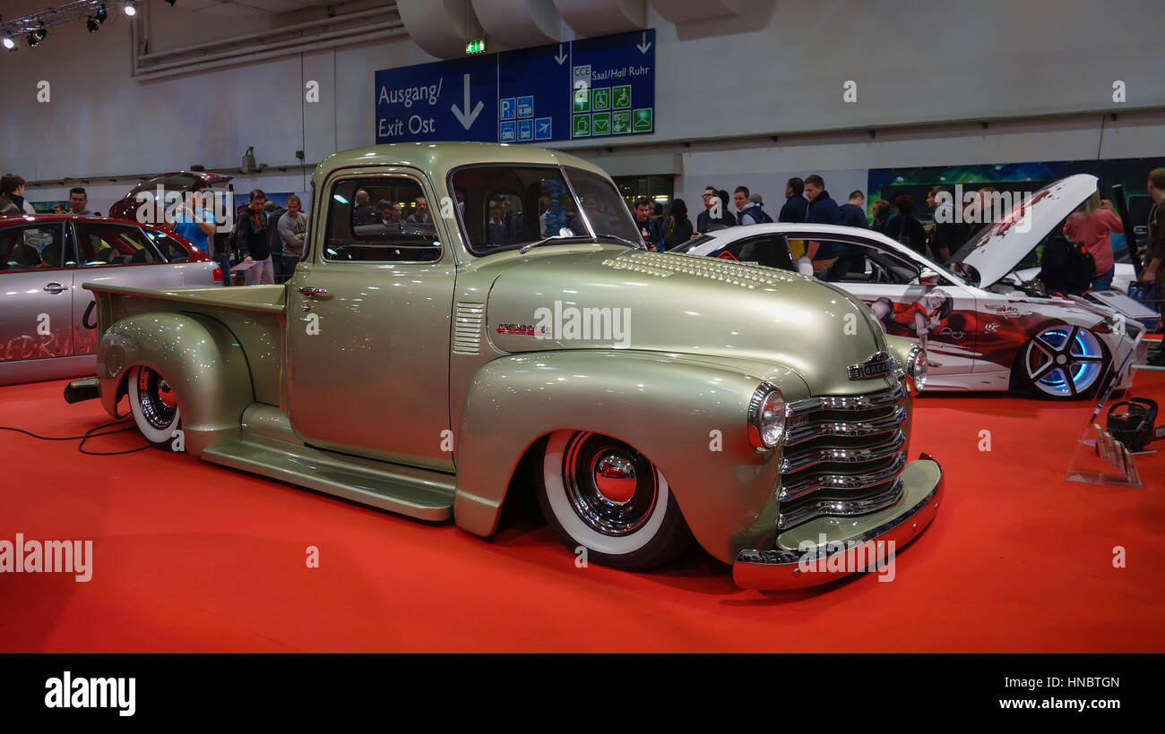 Chevrolet PickUp at motorshow exhibition - Stock Image