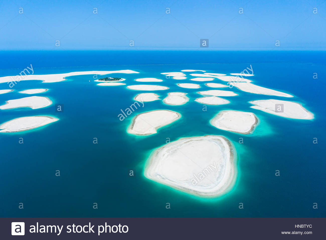The World Or World Islands Are An Artificial Archipelago Of