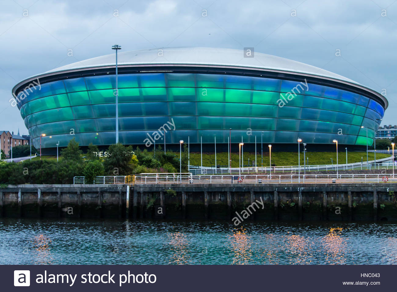 The SSE Hydro Center opened in 2013 in Glasgow and hosts music entertainment and sporting events. - Stock Image