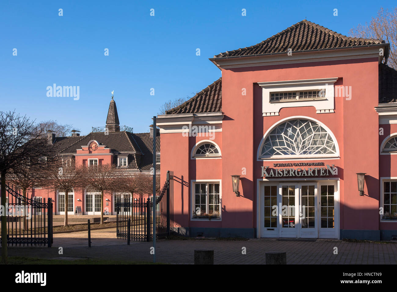 Germany, North Rhine-Westphalia, Ruhr area, Oberhausen, the castle. Stock Photo
