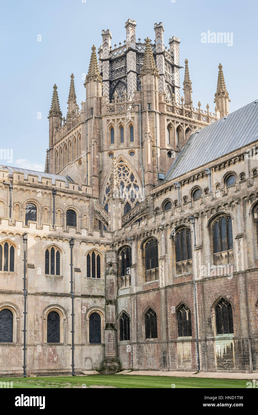 Ely cathedral - Stock Image