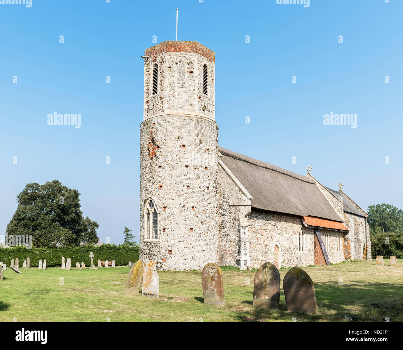 St. Mary's church, West Somerton, Norfolk UK - Stock Image