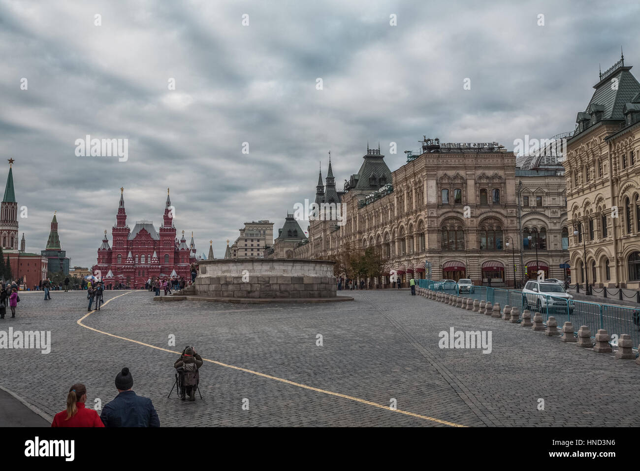 Lobnoye Mesto at Red Square - Stock Image