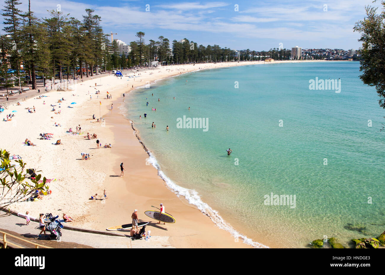 Manly Beach, Sydney, Australia - Stock Image