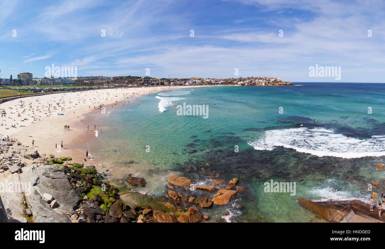 Bondi Beach, Sydney, Australia - Stock Image