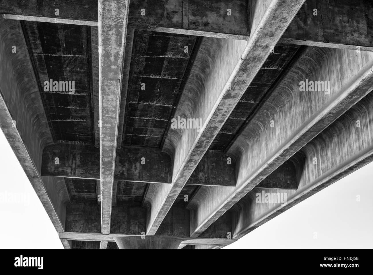 Ingraham Street Bridge, San Diego, California, USA. Stock Photo