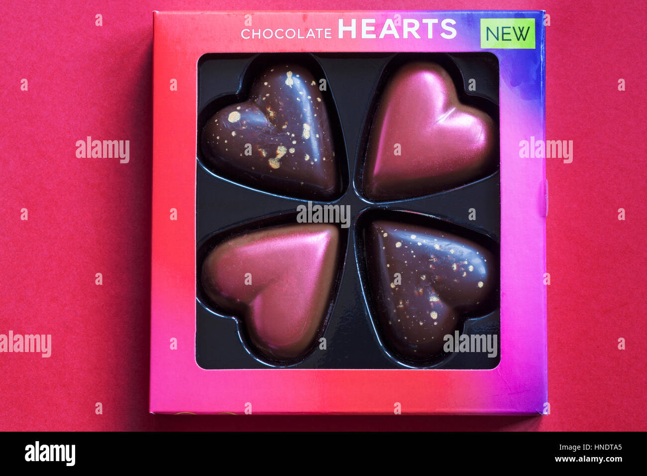 Box Of M S Chocolate Hearts For Valentines Day With Milk Dulce De