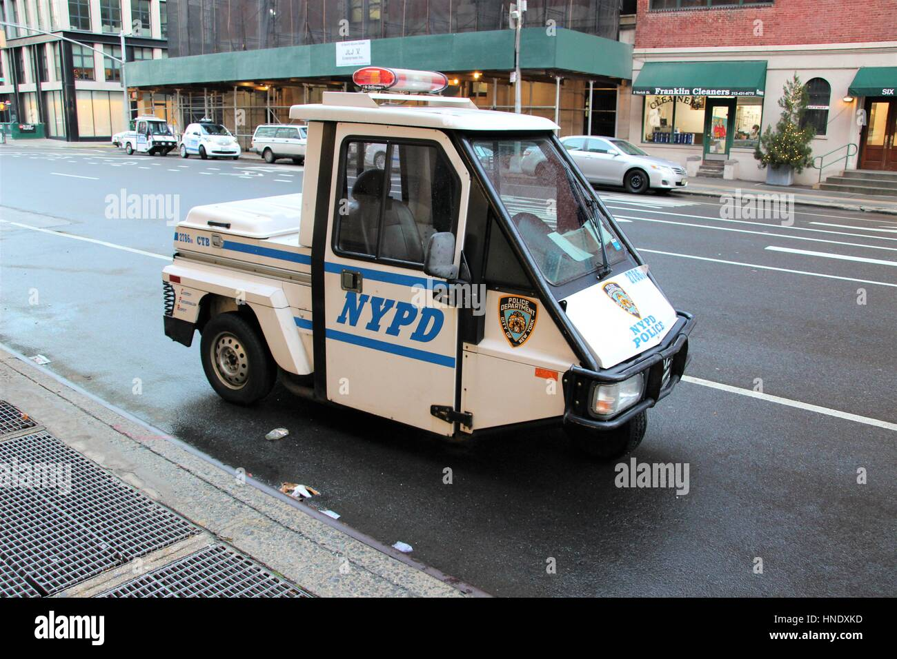 New York Police Department Nypd Meter Maid Vehicle Parking Enforcement On The Street In New York City United States Of America Stock Photo Alamy