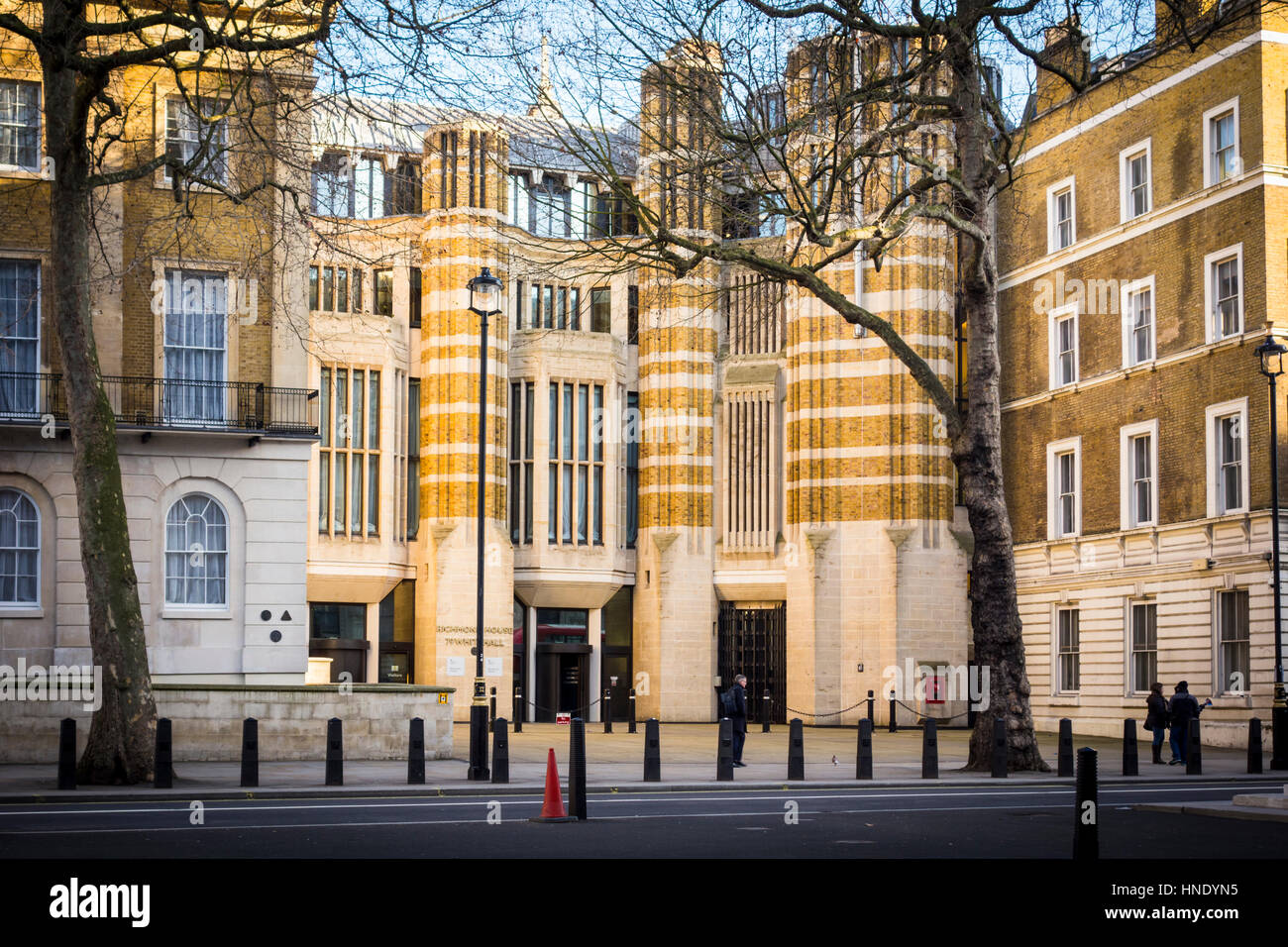 Department of Health building, Richmond House, 79 Whitehall, London, UK - Stock Image